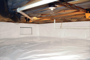 Crawl Space Repair After in Ashburn
