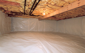 CleanSpace® vapor barrier after in Ashburn