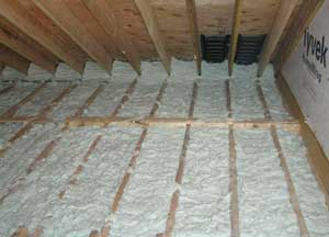 Injection foam insulation installers of air krete - Retrofit exterior wall insulation ...