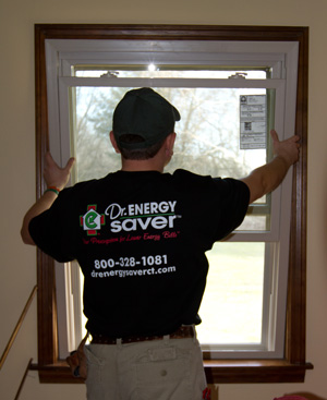Low-e energy efficient window installation in VA