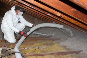 Blown-in Insulation in Reston